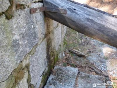 Calzada Romana - Fuenfría-Cercedilla; patones pueblo viajes en grupos monasterio rascafria puente e